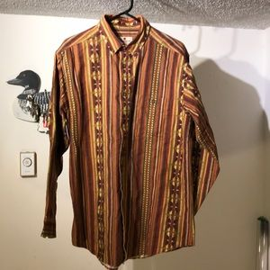 Other - Woolrich Shirt with Cool Southwest Theme